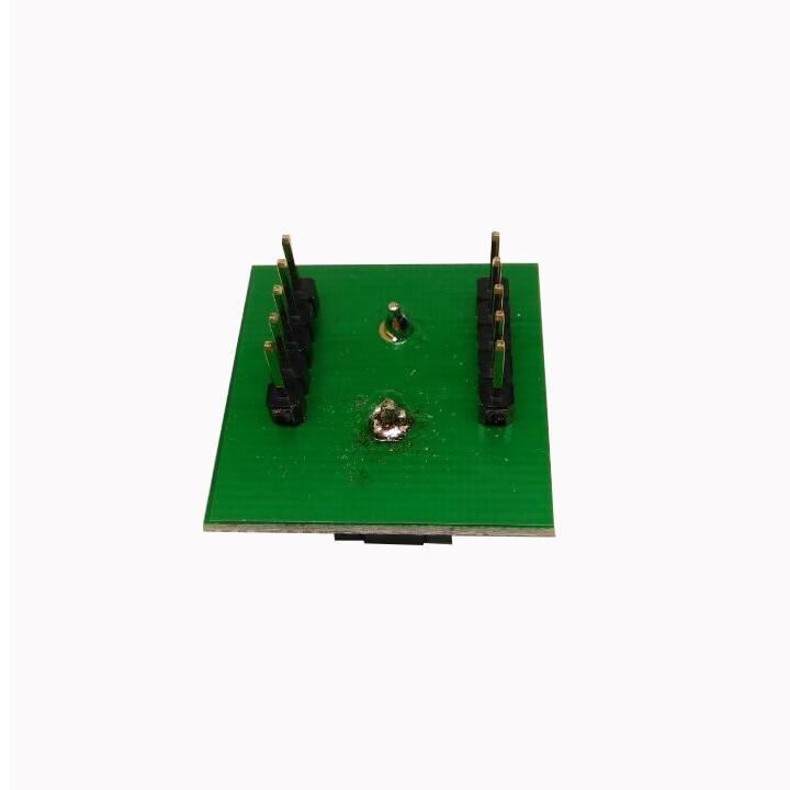 Купить с кэшбэком QFN8 DFN8 WSON8 Programming Socket Pogo Pin Test Adapter QFN8-1.27-CPO1PNL Pin Pitch 1.27mm IC Body Size 6*8mm Burn in Socket