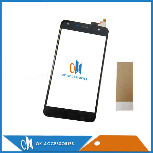 Black White Color 5.0 Inch For Fly <font><b>FS517</b></font> cirrus 11 FS 517 Digitizer <font><b>Touch</b></font> Screen Glass High Quality With Tape image