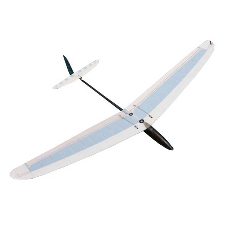 Обновленный Мини DLG мм 980 мм/950 мм размах крыльев без мощности ручной Запуск планер комплект с сервоприводом