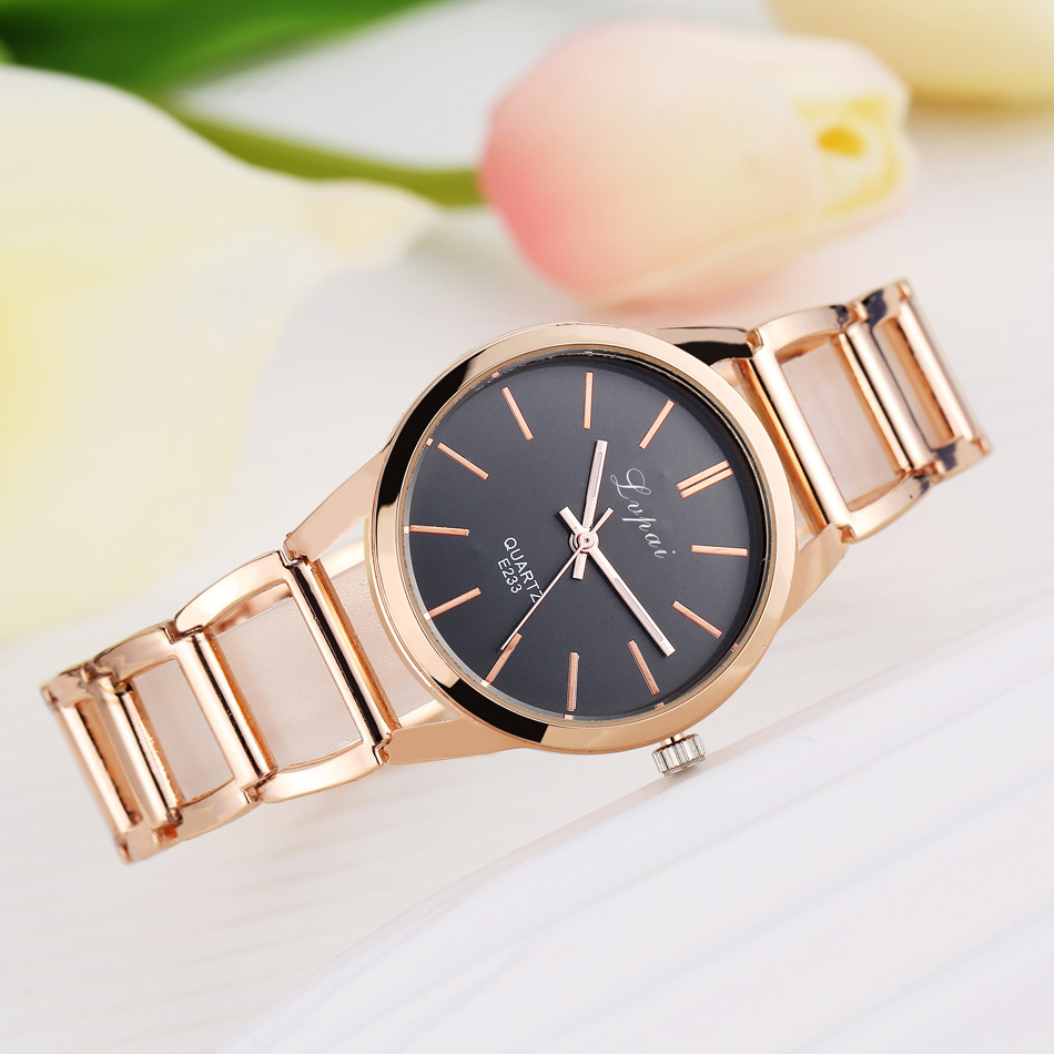 Luxury Women's Bracelet Watches Fashion Quartz Wrist Watch Women Watches Stainless Steel Rose Gold Ladies Watch reloj mujer saat luxury brand kimio bracelet watches gold business ladies casual clock reloj mujer fashion women s stainless steel quartz watch