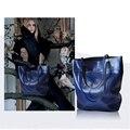 Women Genuine Leather Bags Women Real leather Handbags Large Shoulder bags Designer Vintage Big Tote bag