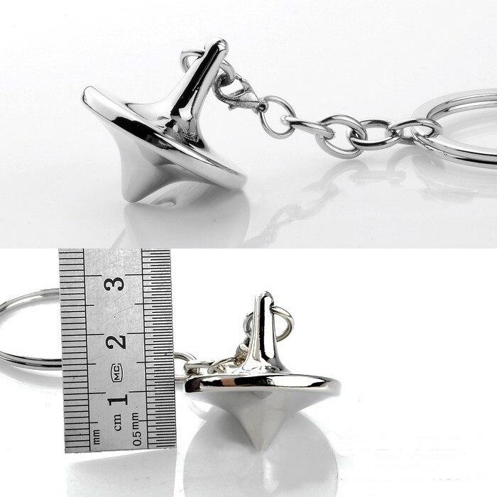Мечта гироскопа создания брелок металлический волчок топ-брелок aotomotive брелок кольцо брелок держатель