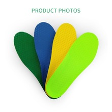 Buy PCSSOLE 1 pair of stretch sweat-absorbent breathable non-slip deodorant running insoles men and women sports insoles 637 directly from merchant!