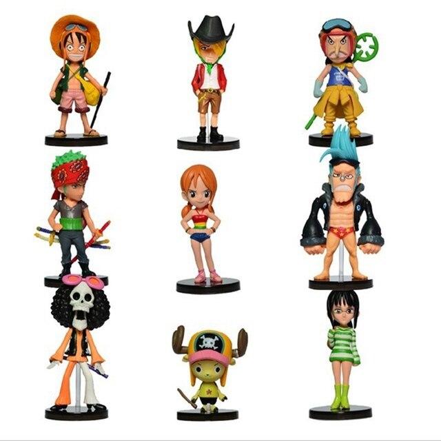 One Piece Mini Figurine Set [9pcs]
