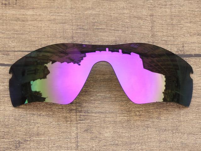 Plasma Roxo Espelho Polarizado Lentes de Substituição Para O Caminho RadarLock Óculos De Sol Quadro 100% UVA & Uvb