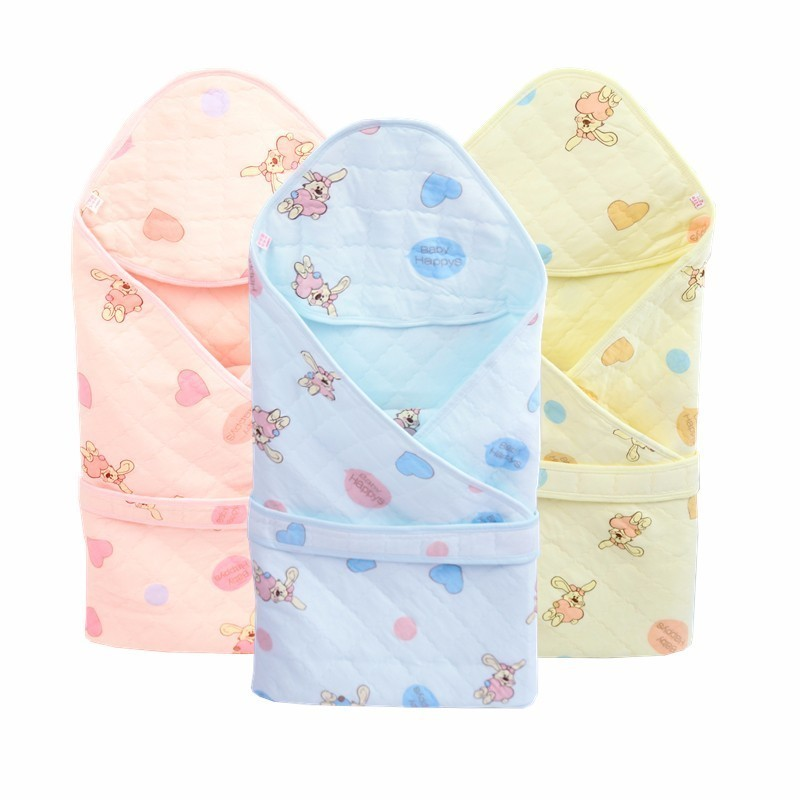 Cobertor de algodão do bebê cobertor de dormir infantil bebe swaddle envelope bebê recém-nascido cobertores envoltório sleepsack dos desenhos animados do bebê cobertor de cama
