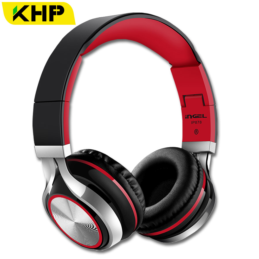 KHP INGEL 3.5mm Gaming Earphone Headphone For iPhone Samsung PC Game Bass Stereo Sound Headset Separate AUX Cable Mic Outdoor
