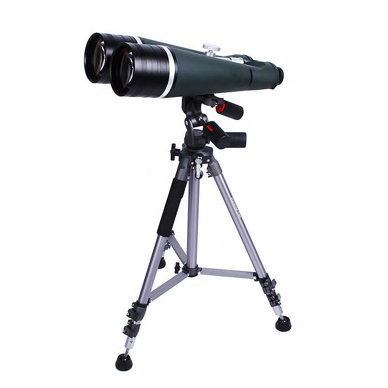 Super Binocular Telescope 25X100 HD Waterproof Wide Angle Binoculars with Aluminum Trunk and Tripod for Outdoor Moon-watching
