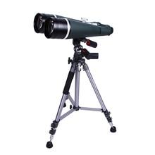 Super Binocular Telescope 25X100 HD Waterproof Wide Angle Binoculars with Aluminum Trunk and Tripod for Outdoor Moon-watching