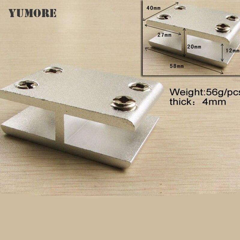 ̿̿̿(•̪ )Envío libre de DHL 180 grados aluminio soporte de vidrio ...