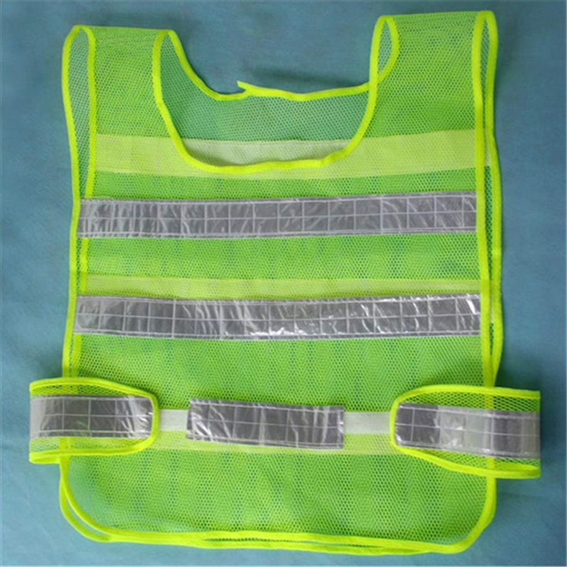 High Quality Reflective Safety Vest 2 Strips Waistcoat for Construction Traffic Warehouse Green good sale reflective safety vest 2 strips waistcoat for construction traffic warehouse green