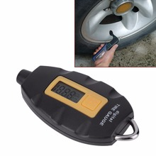 Classic Mini Portable High Precision Car Digital Tire Pressure Gauge Manometer Electronic Tyre Tester Vacuum Diagnostic Tool цена