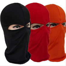 Unisex Outdoor Motorcycle Full Face Mask Balaclava Ski Neck Protection