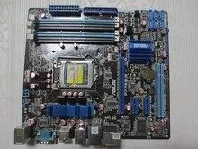 original motherboard for P7P55-M LGA 1156 DDR3 for I5 I7 CPU 16GB USB2.0 SATS II P55 Desktop motherborad