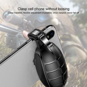 Image 5 - Baseus Pubg Mobile Controller Trigger per il iPhone XR L1 R1 Shooter Controller Pulsante di Fuoco Gameped Joystick per il Telefono Android
