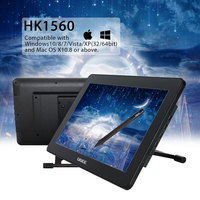 UGEE HK1560 Graphic Tablet Monitor Pen Display Pen Holder Scree Protector