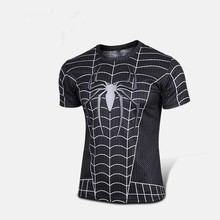 Free shipping 2015 t-shirt Superman/Batman/spider man/captain America /Hulk/Iron Man / t shirt men fitness shirts men t shirts