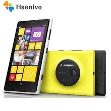 Оригинальный телефон Nokia Lumia 1020 Окна телефон 2 ГБ 32 ГБ Камера 41MP GPS Wi-Fi 4.5 дюймов Экран разблокирована Lumia 1020 мобильный телефон
