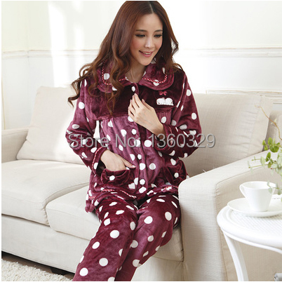 Absolutely Plus Size Pajamas Women Winter Homewear Sexy Footed ...