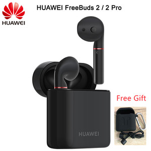 Image 1 - 2018 Newest HUAWEI FreeBuds 2 Pro TWS Bluetooth 5.0  Wireless Earphone with Mic Music Touch Waterproof Headset