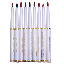 9 colors/set Professional Long-lasting Lip Eye Makeup Waterproof Lip Eye Pencil Lipliner Female Cosmetic Tools
