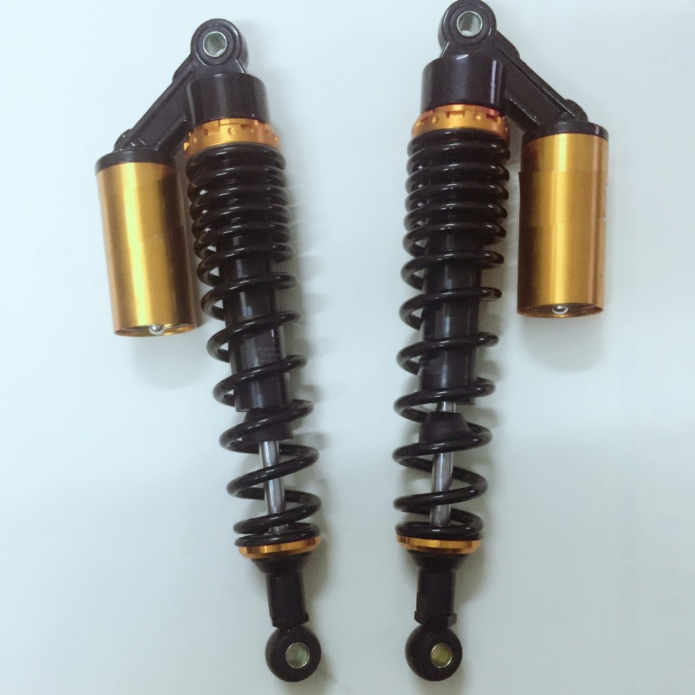 360mm 14'' 8mm spring Motorcycle Rear Shocks Absorbers Suspension for Honda/Yamaha/Suzuki/Kawasaki/Dirt bikes/Gokart/ATV