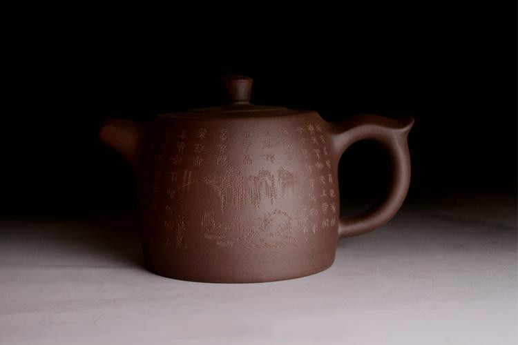 600ml Purple clay Yixing genuine masters teapot pure handmade large capacity tea pot special puer oolong