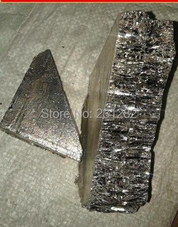 high pure Bismuth Metal, Bismuth ingot 1kg, Bismuth 99.99% pure , 1000g+net per package.