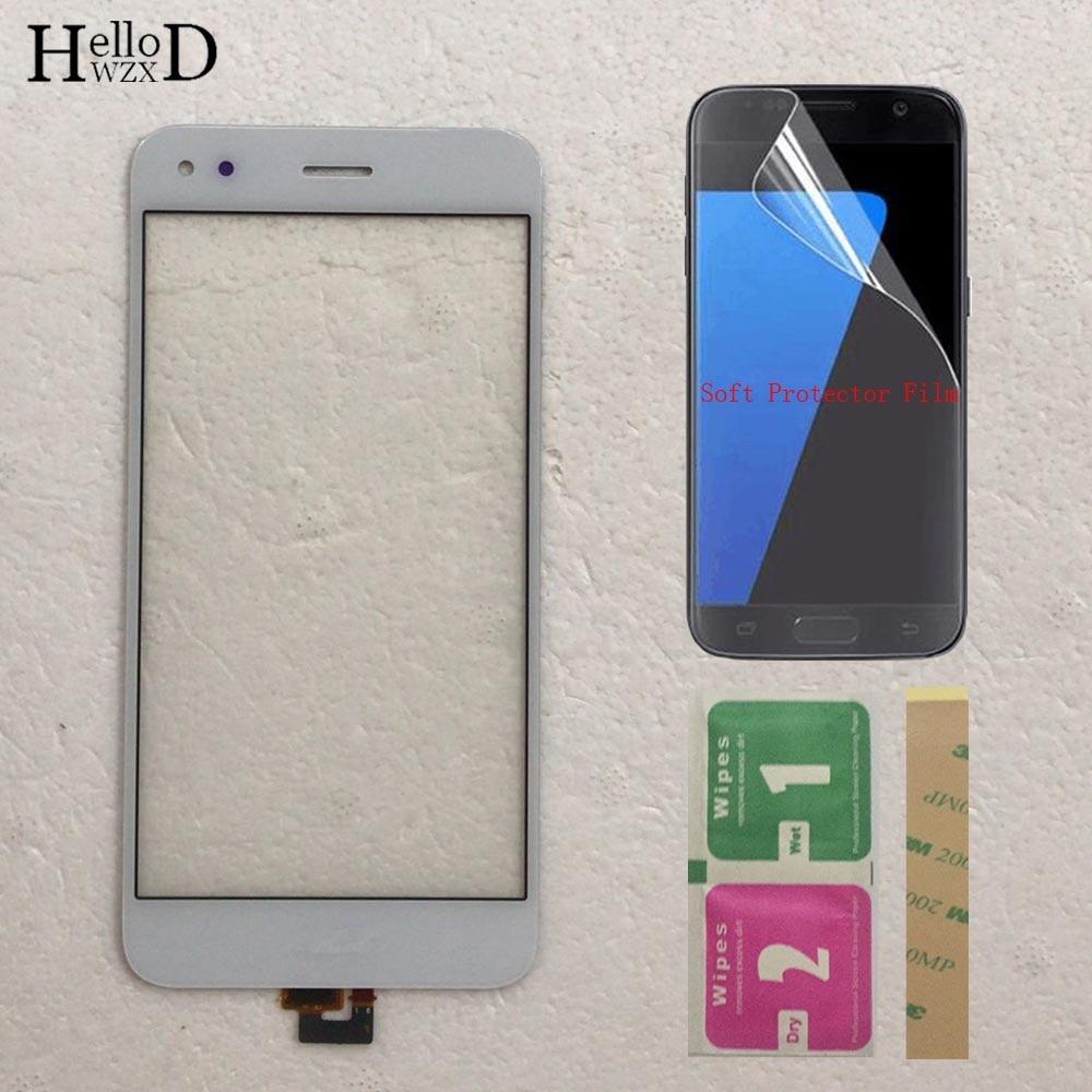 Стеклянная панель мобильного сенсорного экрана для HuaWei P9 Lite Mini, сенсорный экран, дигитайзер, переднее стекло, объектив, сенсорная панель 5 дю...