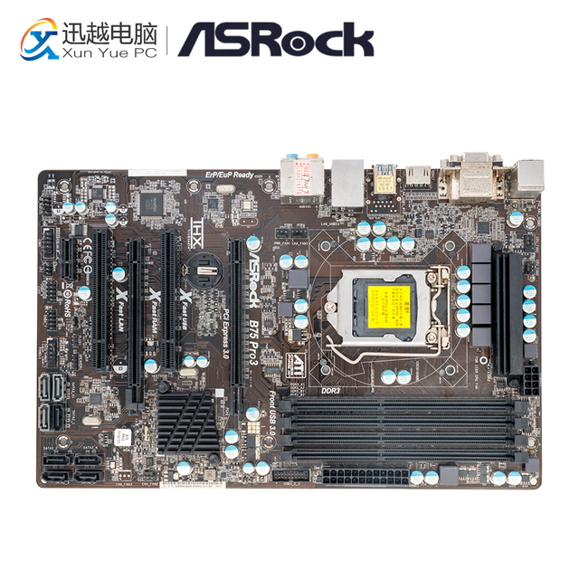 ASRock B75 Pro3 Intel USB 3.0 Windows 7 64-BIT