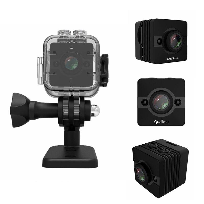 Orignal SQ12 FULL HD 1080 p Mini Caméscopes Night Vision 30 m Étanche Sport Caméra Vidéo Enregistreur Grand Angle lentille mini Caméra