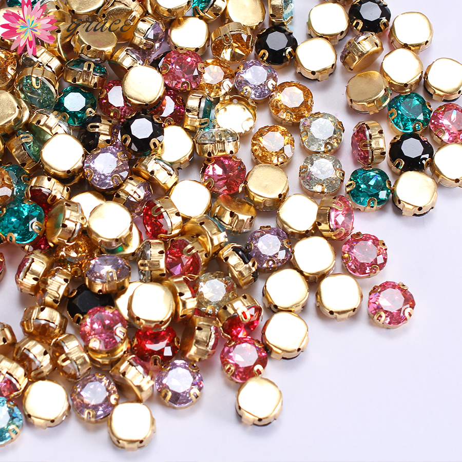 Detail Feedback Questions about 100pcs lots 10mm Round Resin Sewing On Claw  Rhinestone For Clothes Jewelry Decoration Glitter Strass Fancy Stones With  Claw ... 271d83789b1a
