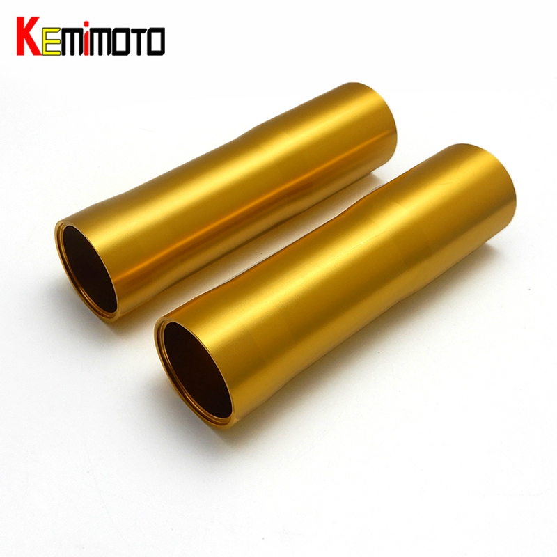 KEMiMOTO For YAMAHA MT 07 FZ 07 MT-07 FZ-07 Motorcycle CNC Aluminum Front Fork Tube Slider Cover MT07 2014 2015 2016 2017 for yamaha mt 07 fz 07 mt07 fz07 2014 2016 motorcycle accessories cnc aluminum engine protector guard cover frame slider blue