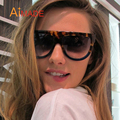 Aimade 2016 Luxury Superstar Oversized Flat Top Sunglasses For Women Fashion Brand Designer Female Outdoor Big Sun Glasses UV400