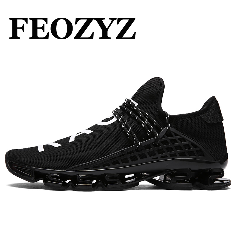 381b842ffefb FEOZYZ Brand Ourdoor Sport Shoes Dampping Sneakers Women Men Running Shoes  Breathable Spring Summer Athletic Shoes