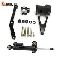 CNC Steering Stabilizer Damper Mounting Bracket Black For Yamaha MT 09 FZ 09 2013 2014 2015 2016 2017 MT09 FZ 09 100% Brand New