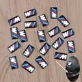 Tec Sport Wheel Badge 3D Emblem Sticker Decals Logo For Bmw M Series M1 M3 M5 M6 X1 X3 X5 X6 E34 E36 E6 Car Styling Stickers