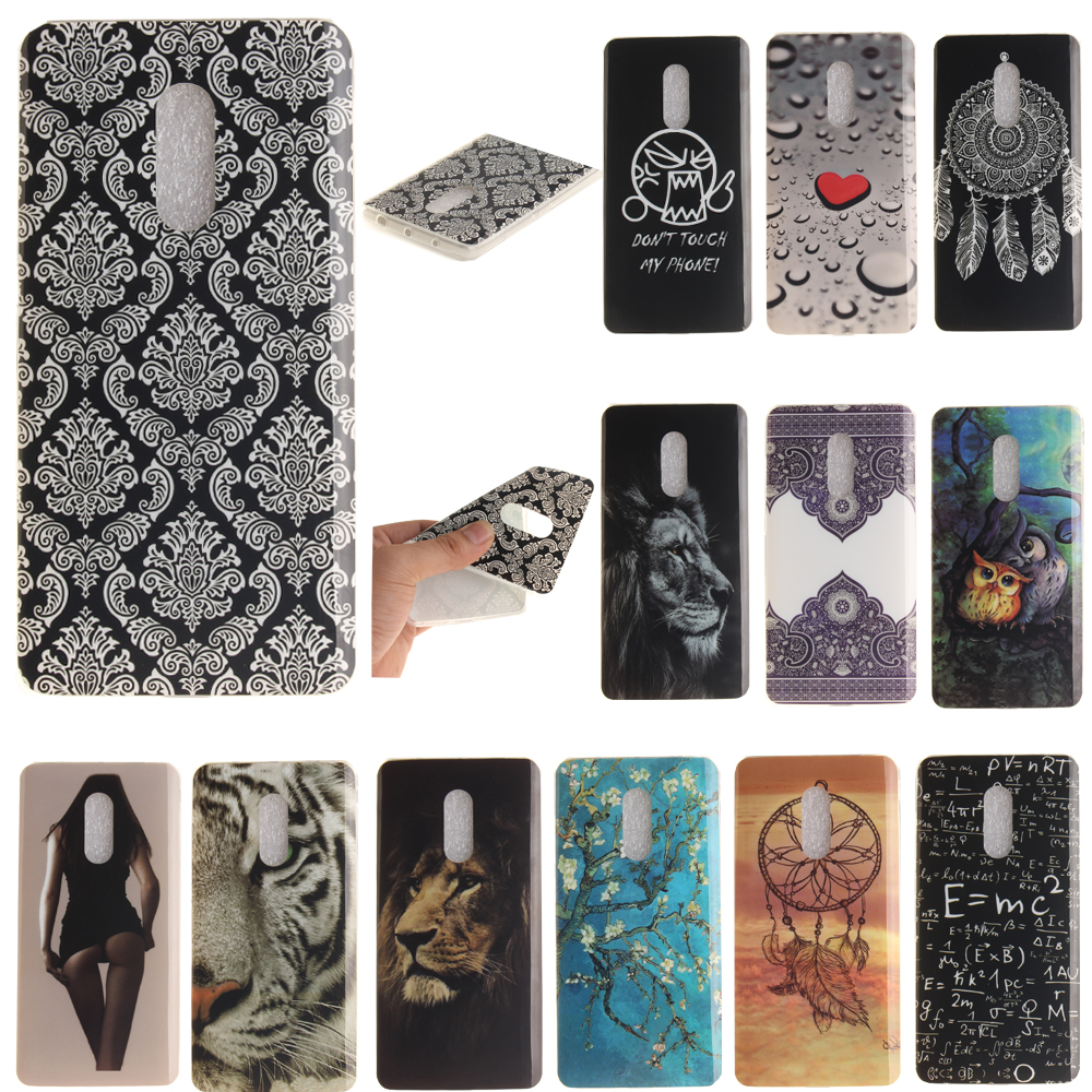 For Xiaomi Redmi Note 4 / Hongmi Note 4 Pro Prime Case Soft Silicon Back Glossy TPU IMD Cover with Fancy Pattern Design