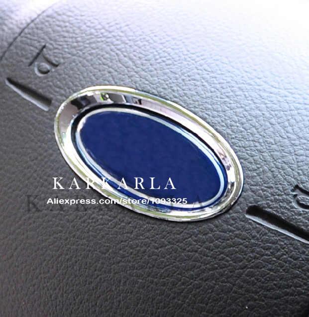 2015 cubiertas de coche reales, caja de decoración de Paillette para Ford Focus 2 3 Fiesta Kuga Mondeo Ecosport Escape