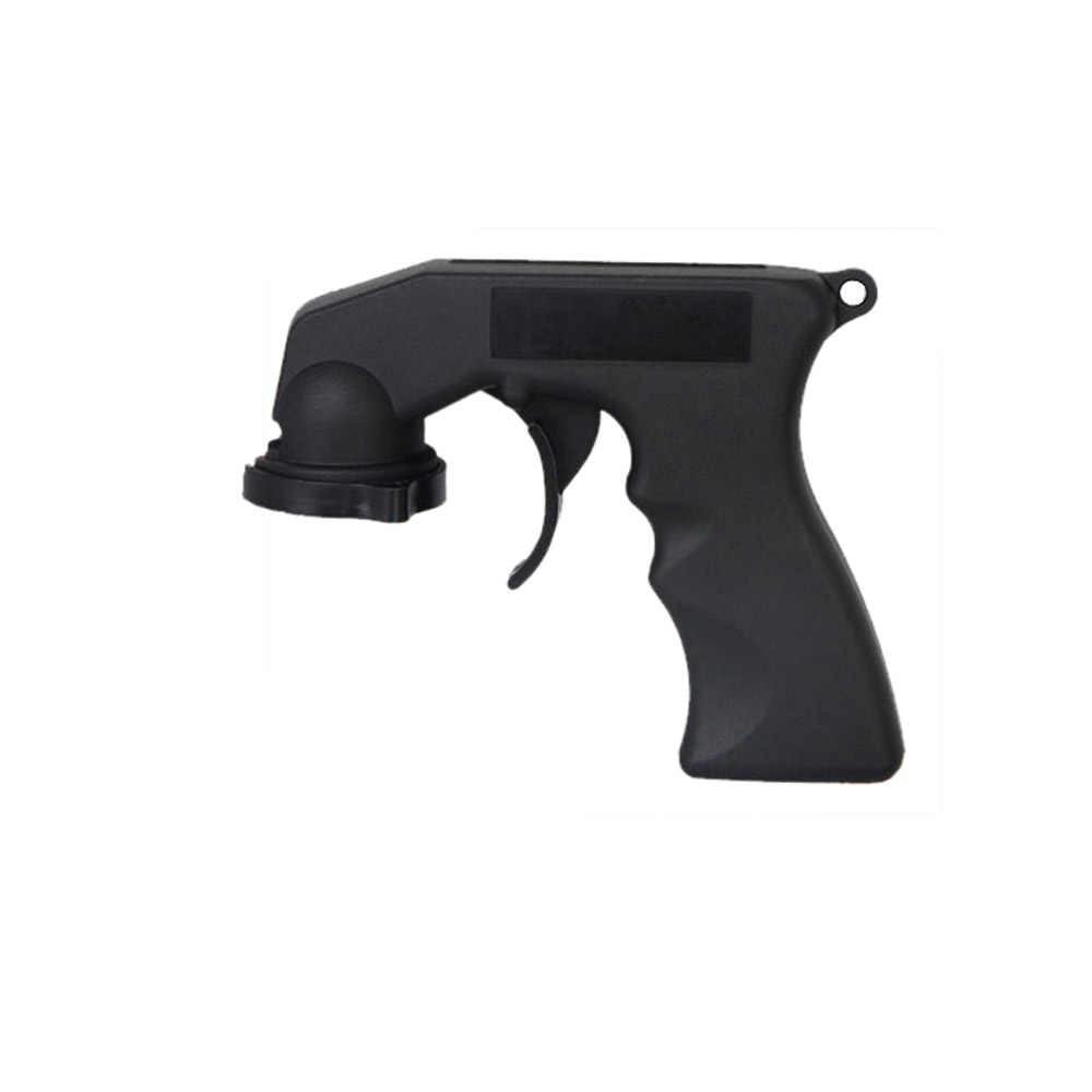 New Spray Adaptor Aerosol Spray Gun Handle With Full Grip Trigger Locking Collar Car Maintenance