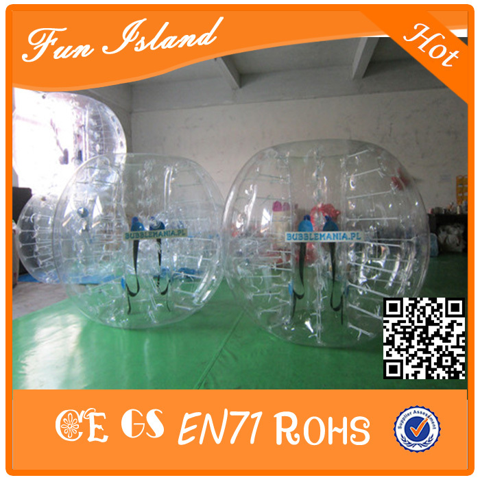 Free Shippng 1.7m Inflatable Bubble Football Suit Ball ,inflatable bumper ball,bubble football,bubble soccer bumperz bubble football
