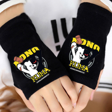 Hot Anime My Neighbor Totoro Cotton Glove Half Finger Wrist Cartoon Printing Gloves Mitten Unisex Cosplay Cute Gift