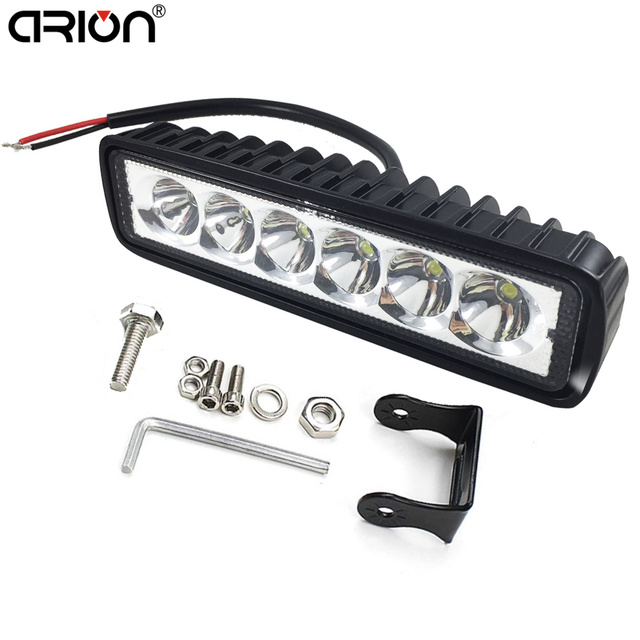 18 W LED Verlichting Spot Boot Rijden Lamp 4WD Spotlight ...