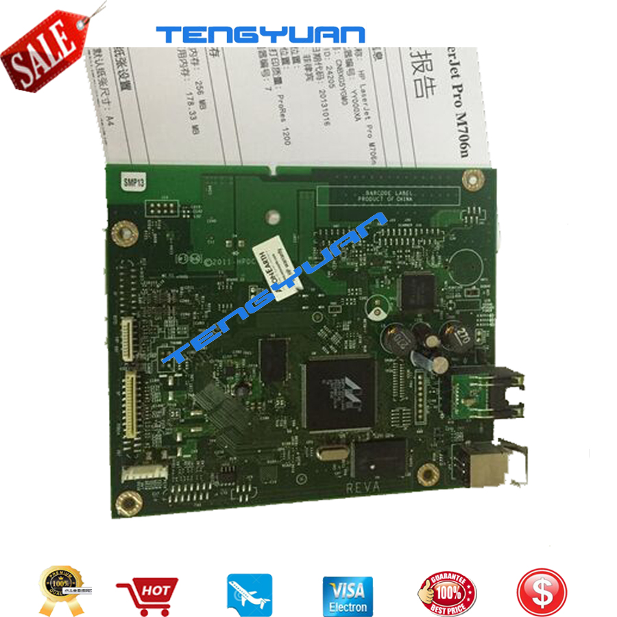 95% New original for HP M706 M706N 706 706N formatter board B6S02-60001  printer parts on sale томат гигант аэлита 0 2 г