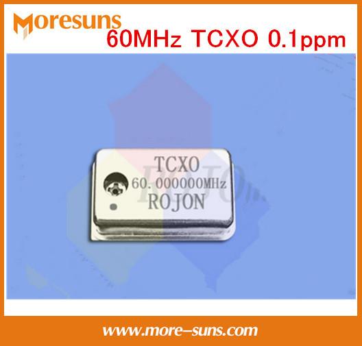Fast Ship Livre 5 pçs/lote Opcional de Alta precisão 60 MHz 240 MHz 116 MHz 64 MHz 75 MHz TCXO 0.1ppm relógio De Cristal Oscilador de alta estável