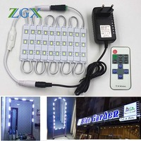 SMD LED Module 5730 5630 10PCS 20PCS Channel Letter Cosmetic Mirror Car Atmosphere Decor Light Lamp