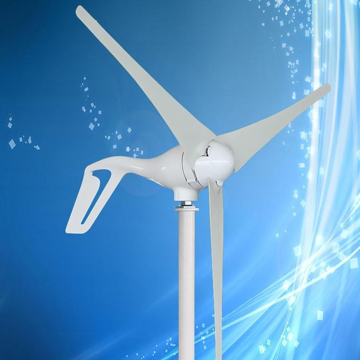 2019 High Efficiency 400W Wind Turbine Generator Kit WaterProof Wind Power Charge Controller Included 15 Years