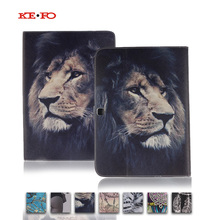 T530 T531 T535 Leather case Cover for Samsung Galaxy Tab 4 10.1 SM-T530 T531 T535 Tablet Accessories with card slot Y4D33D цена и фото