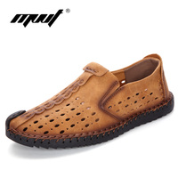 Comparar 2018 nuevos zapatos casuales de verano para hombre, mocasines, calzado, zapatos de hombre de cuero suave, cómodos, zapatos casuales de calidad para hombre, zapatos para caminar