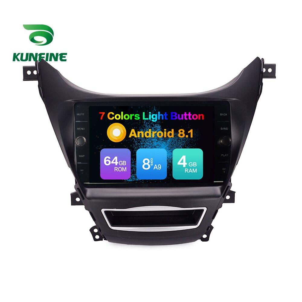 Android Car DVD GPS Navigation Multimedia Player Car Stereo For Hyundai Elantra 2012 Radio Head unit (711)